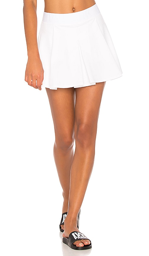 IVY PARK Tennis Skirt in White