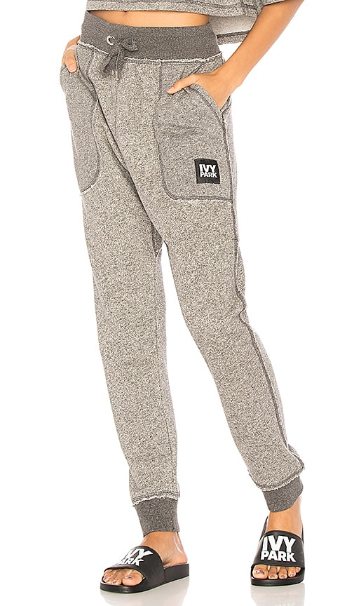 IVY PARK Two Tone Jogger in Gray