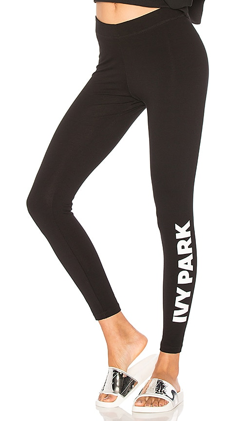 Genuine Ivy Park from Top Shop grey logo leggings new M