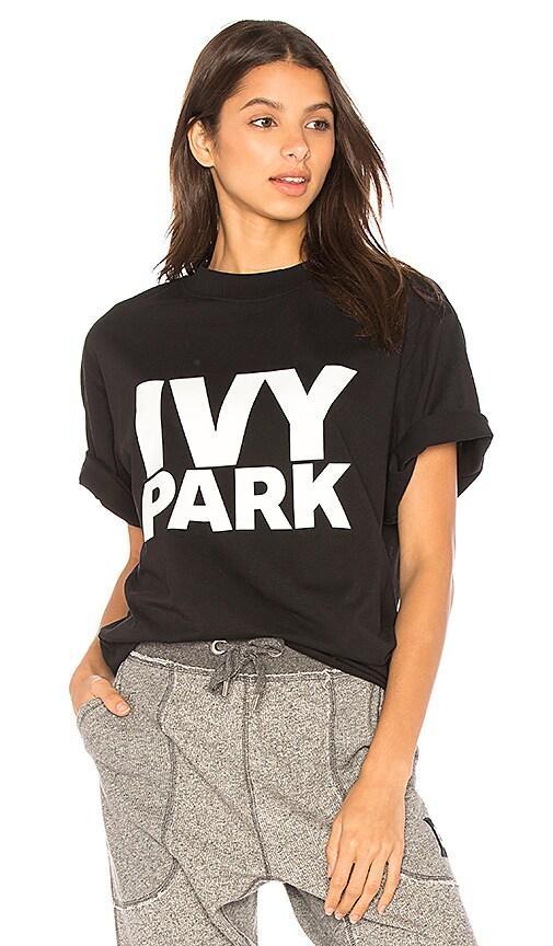 IVY PARK Casual Tee in Black