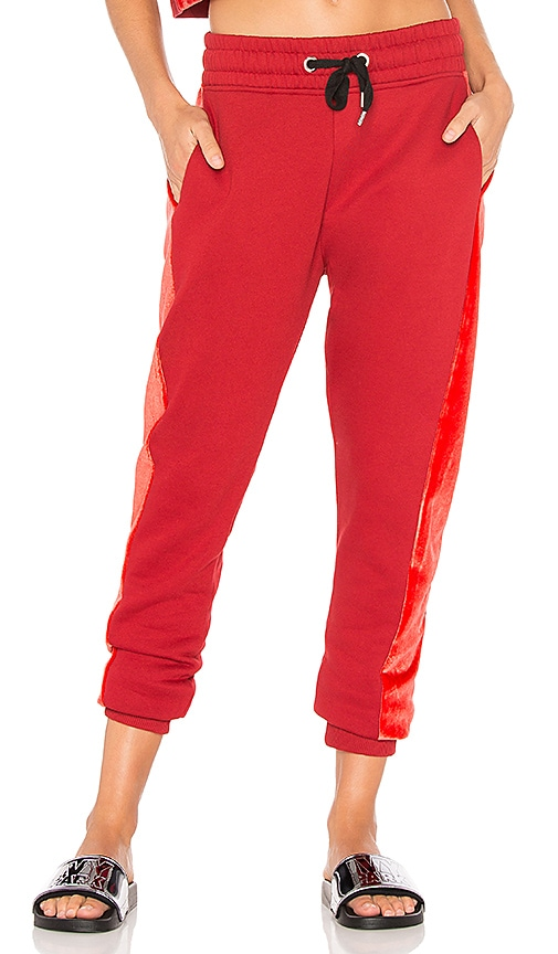 IVY PARK Jogger in Red
