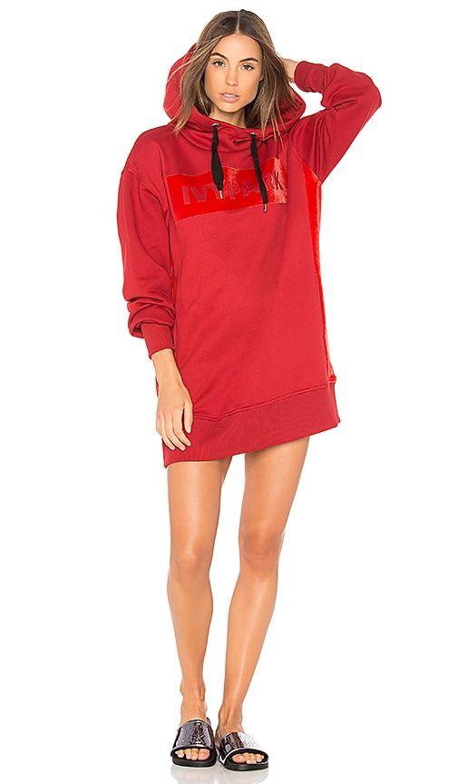 IVY PARK Long Sweatshirt in Red
