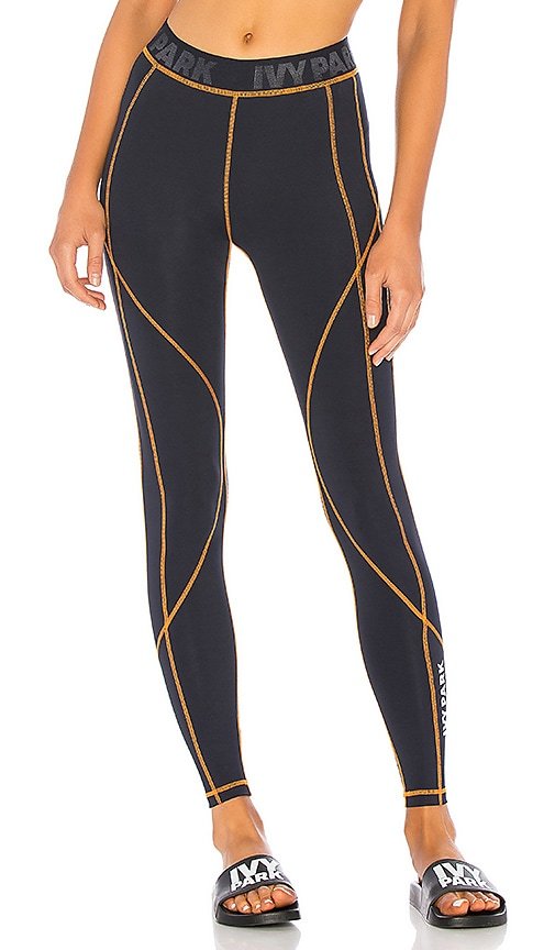 Active Contrast Stitched Leggings by Ivy Park