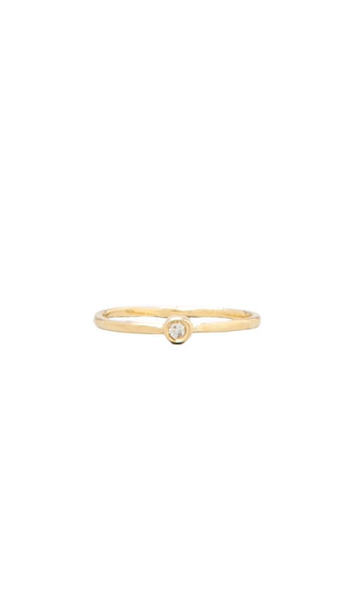 Small Diamond Waif Ring