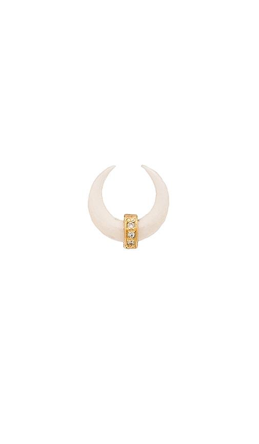 Single horn earring