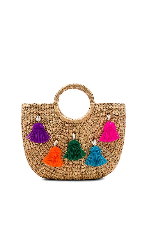 Mini Tassel Small Basket