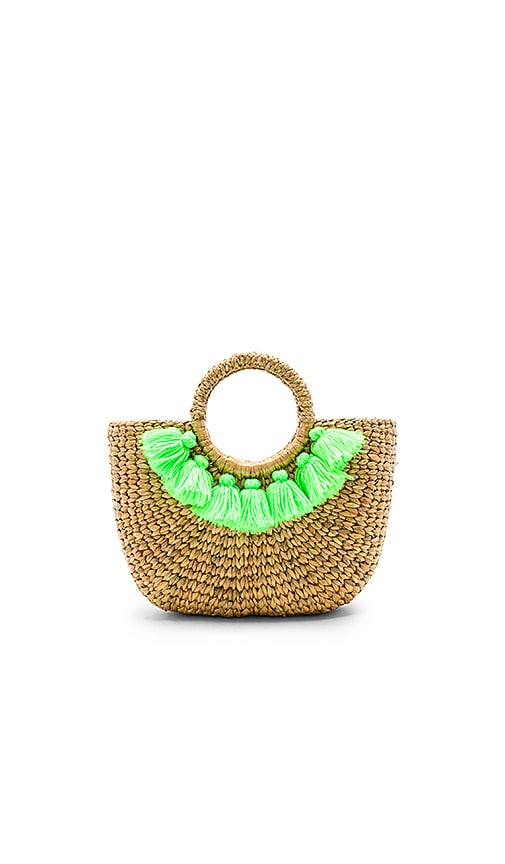 JADETRIBE BASKET MINI 7 TASSEL