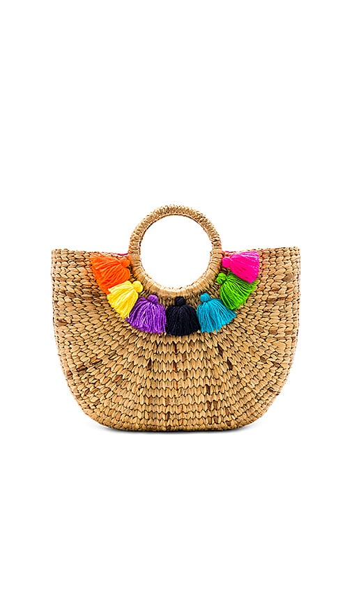 Basket Small 7 Tassel by Jad Etribe