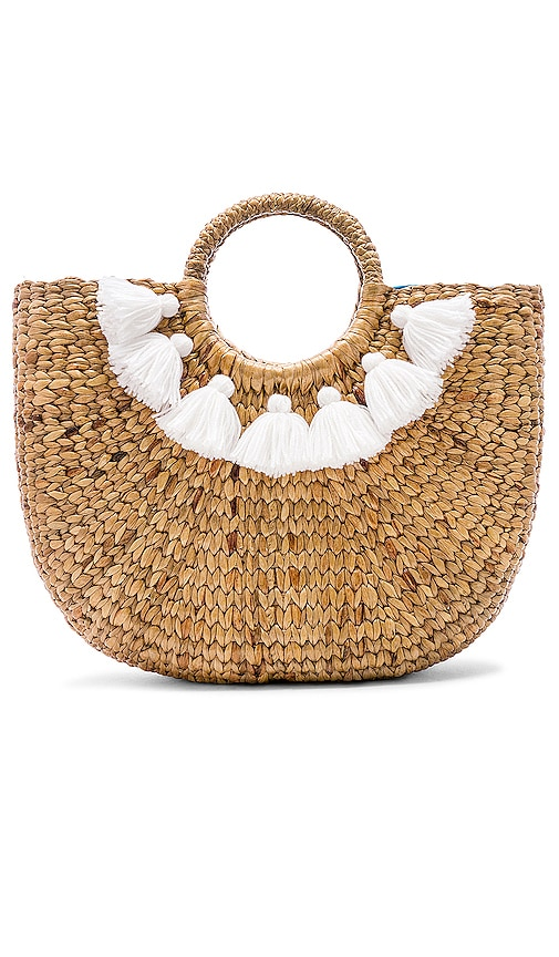 Small 7 Tassel Basket
