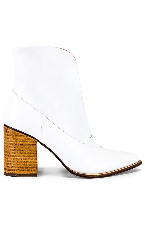 Scallop Ankle Bootie
