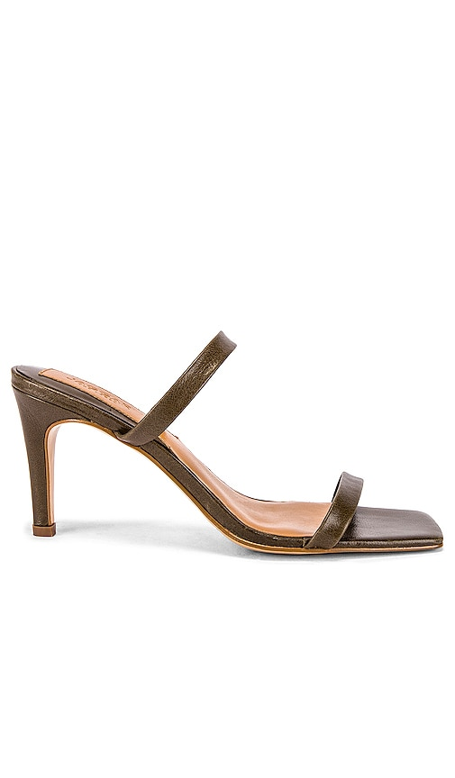Two Strap Wrinkled Sandal