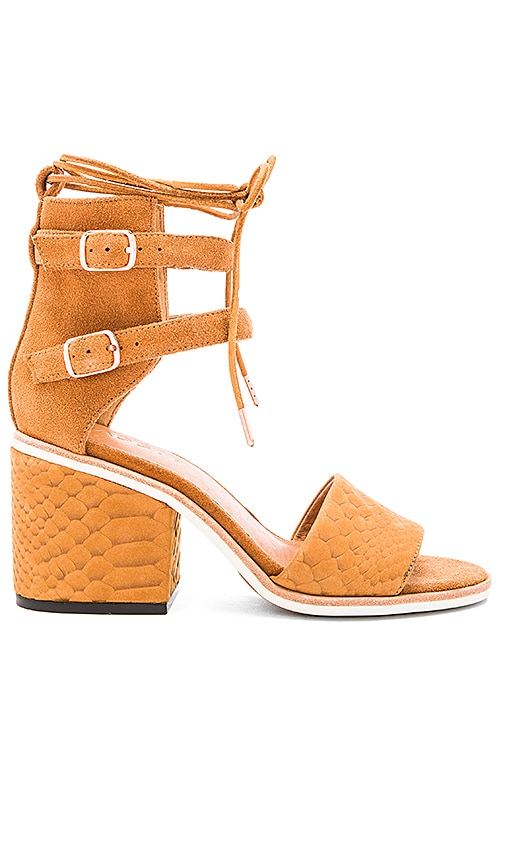 JAGGAR True Lover Heel in Cognac