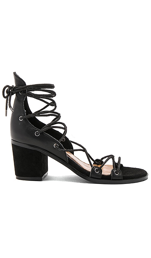 JAGGAR Hold Tight Block Heel in Black