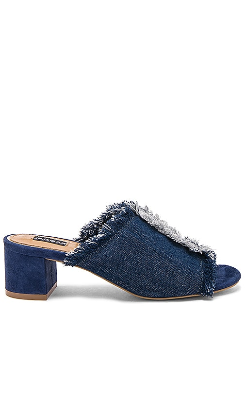 JAGGAR Resolve Block Heel in Blue