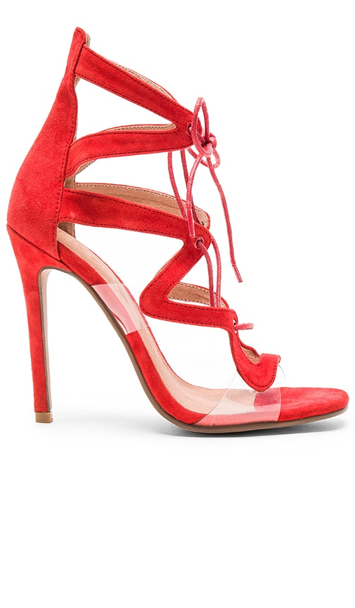 JAGGAR Hypnotic Heel in Red