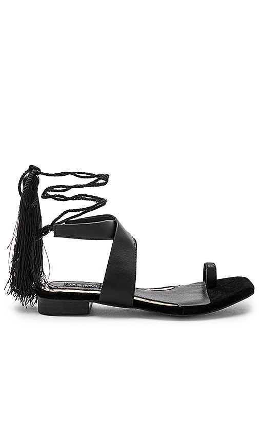 JAGGAR Compel Sandal in Black