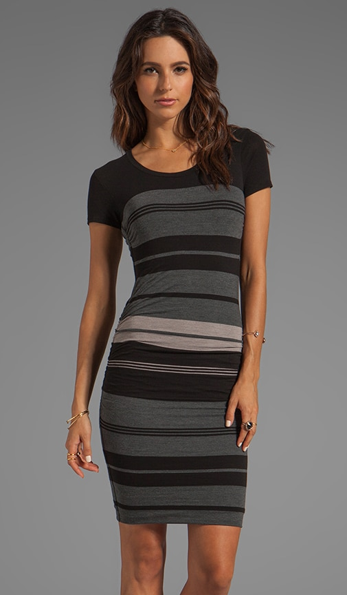 Multi Layer Stripe Dress