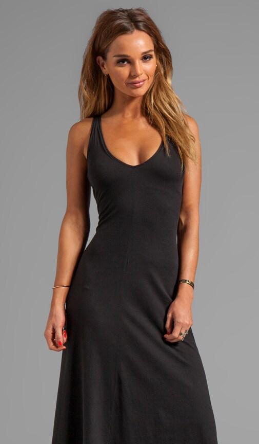 Jersey Deep V Dress