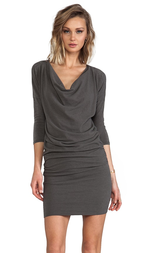 Dolman Cowl Dress