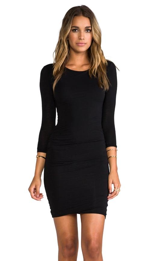Jewel Neck Skinny Dress