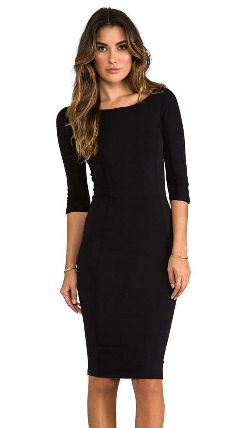 Side Panel Skinny Dress