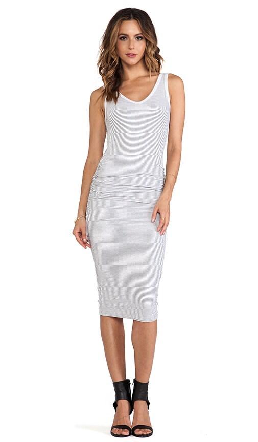 Skinny Stripe Tank Dress