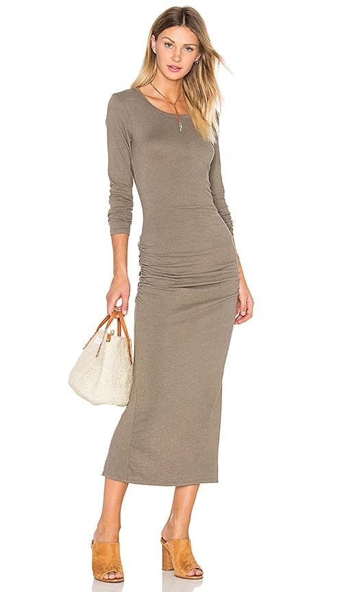 Skinny Split Dress