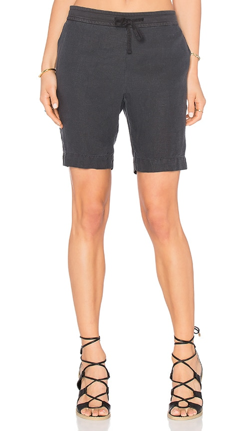 James Perse Pull On Trouser Short in Gray