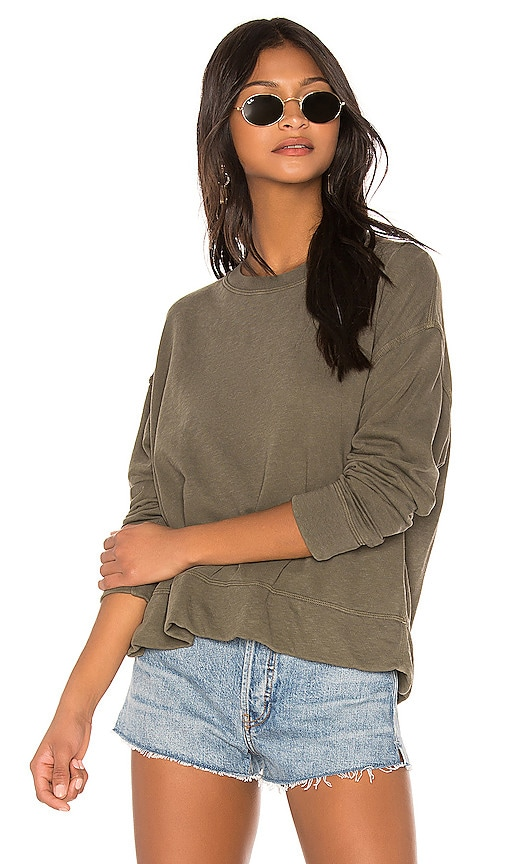 Relaxed Crop Pullover