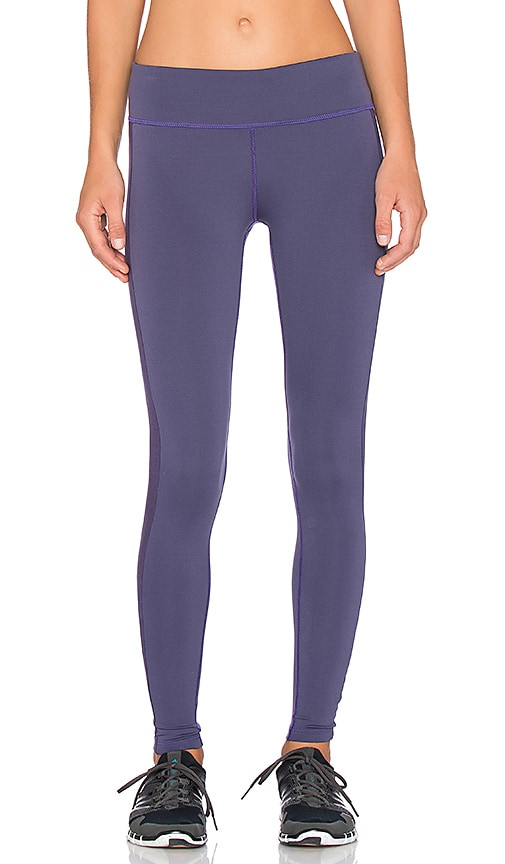 James Perse Yosemite Side Stripe Yoga Pant in Concord