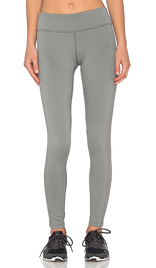 James Perse Yosemite Side Stripe Yoga Pant in Silverfox