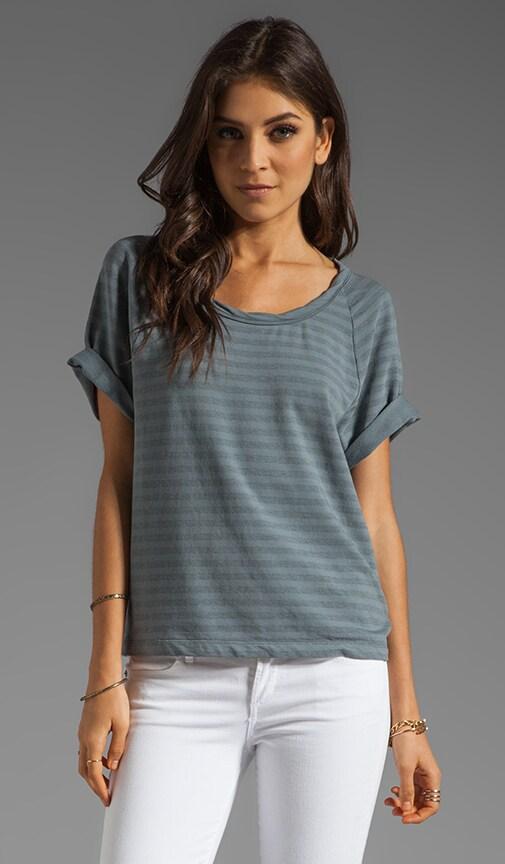 Short Sleeve Dolman Sweatshirt