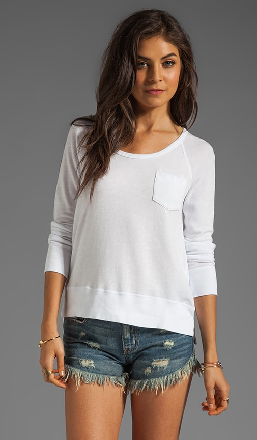 Raglan Pocket Pullover