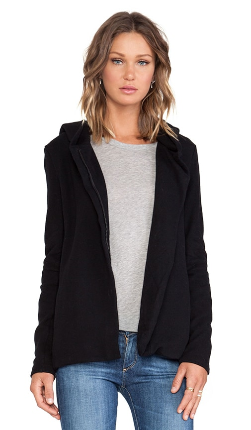 Hooded Fleece Zip Jacket