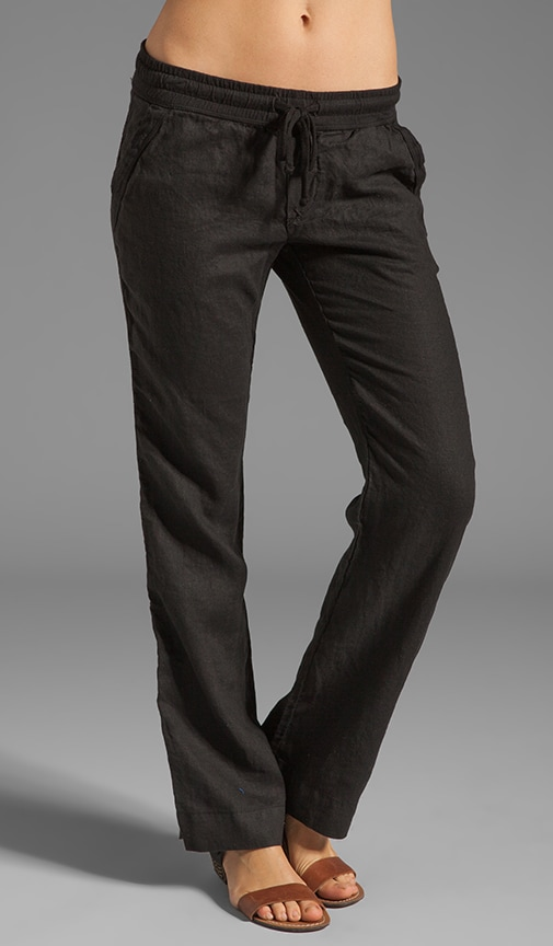 Tailored Linen Pant
