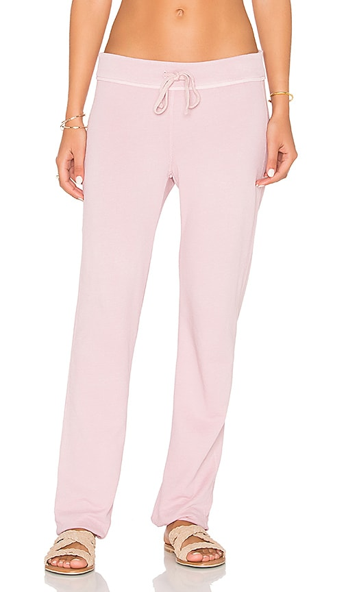 James Perse Genie Sweatpant in Rose
