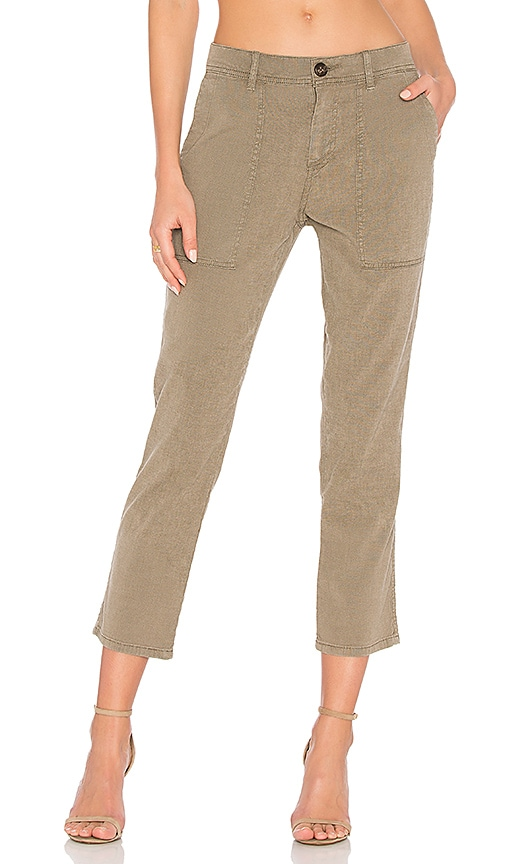 James Perse Workwear Pant in Army