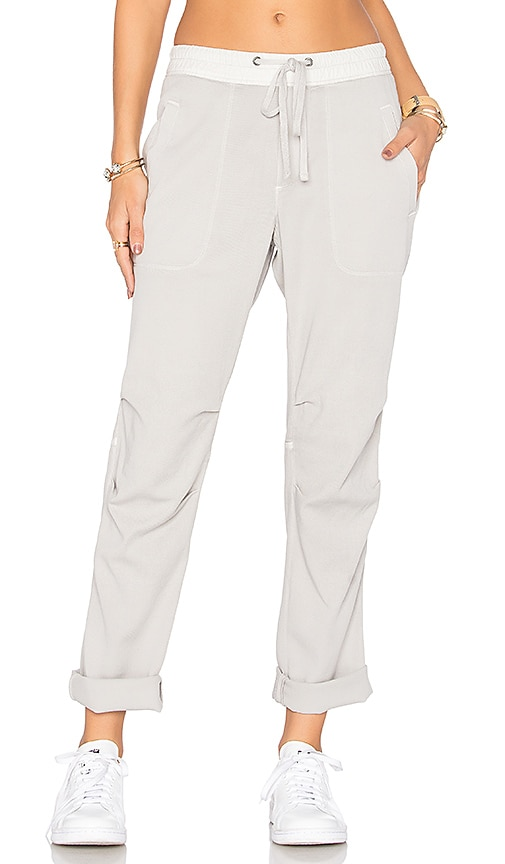 James Perse Twill Pant in Gray