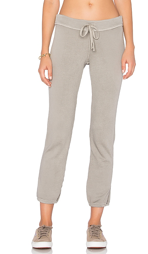 James Perse Genie Sweatpant in Taupe