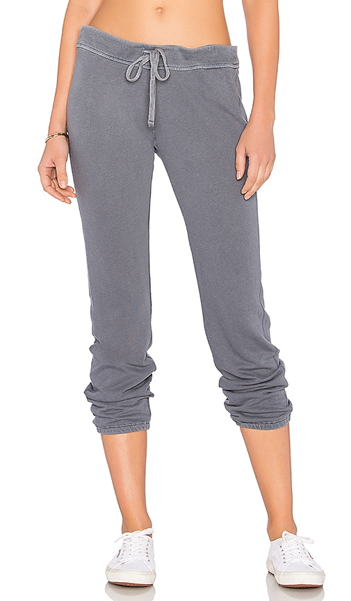James Perse Genie Sweatpant in Gray