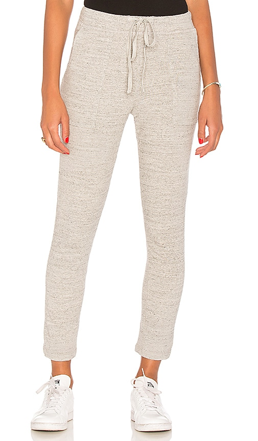 James Perse Relaxed Pocket Sweatpant in Gray
