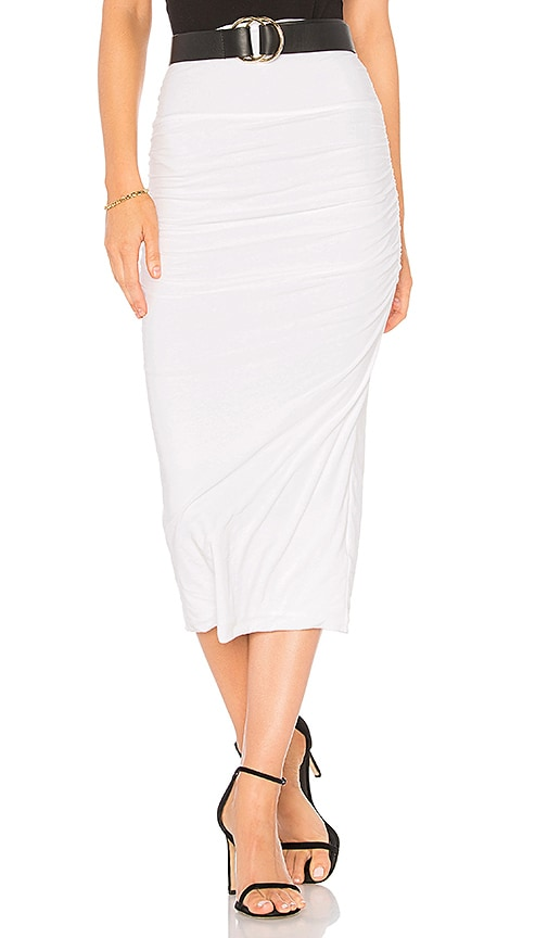 2041adbc4 Coupon James Perse Shirred Tube Skirt in White | Revolve Sale