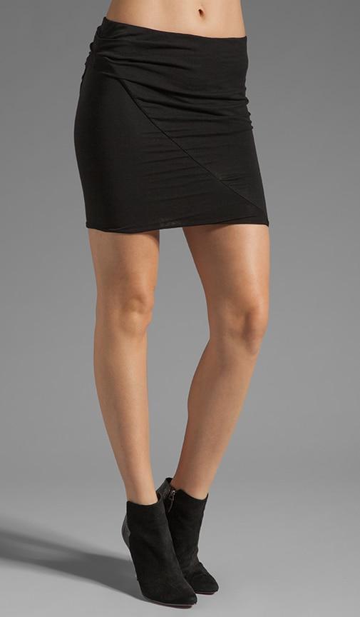 Asymmetrical Tuck Skirt