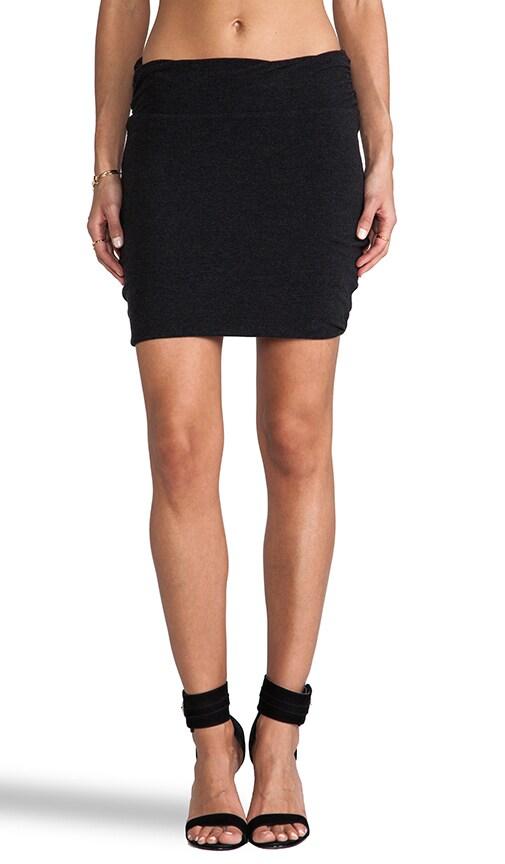 Wrap Waist Mini Skirt