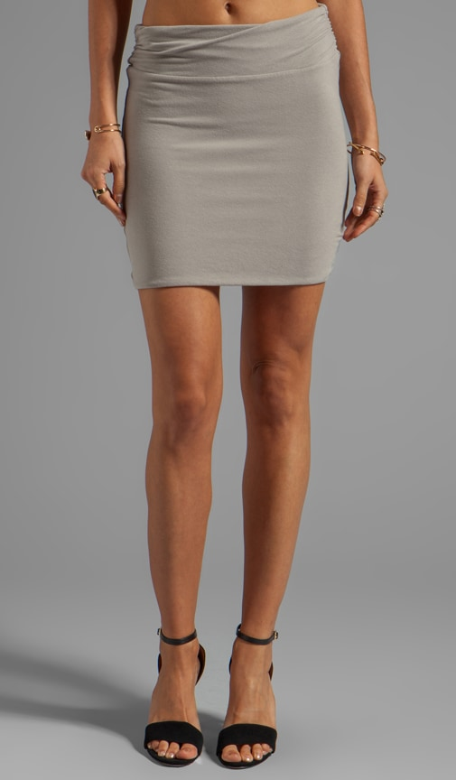 Wrap Waist Mini Skirt