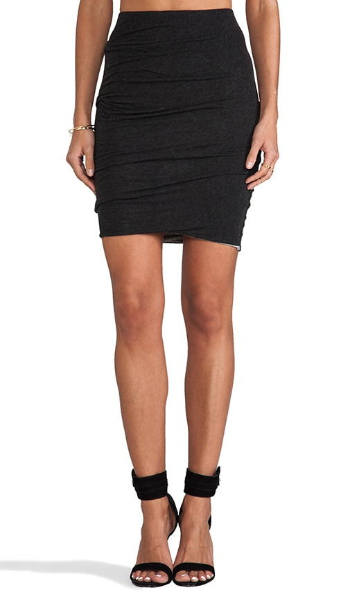 Twist Hem Tuck Skirt