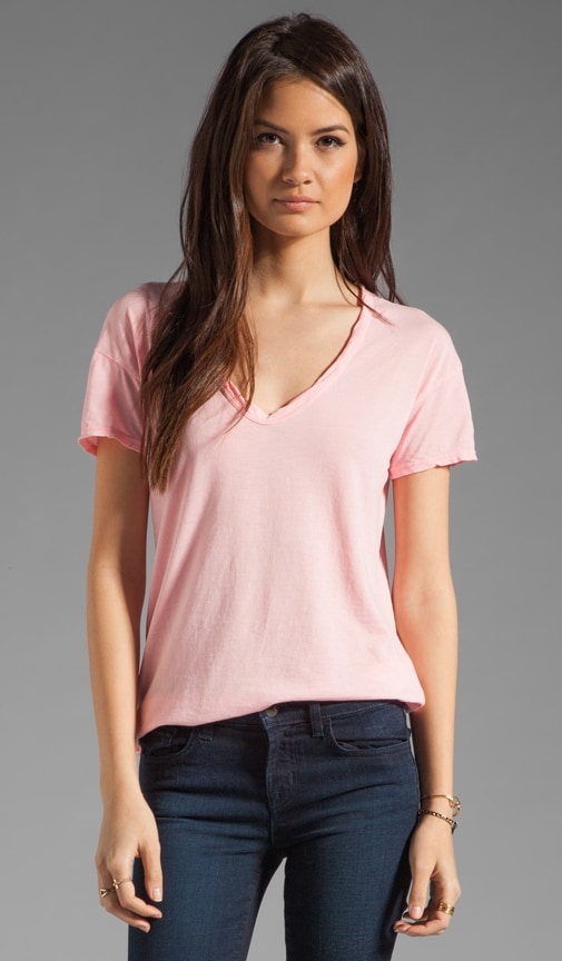 Relaxed Fit Soft V Short Sleeve Tee