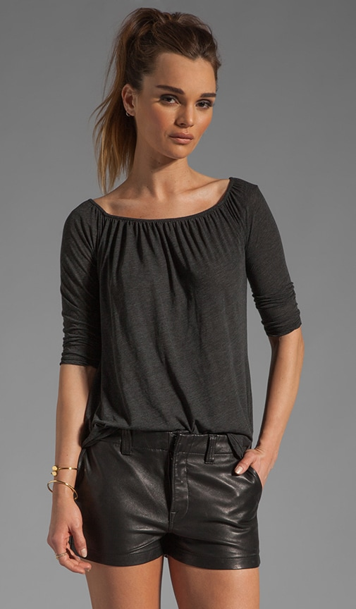 A Line Off the Shoulder Top