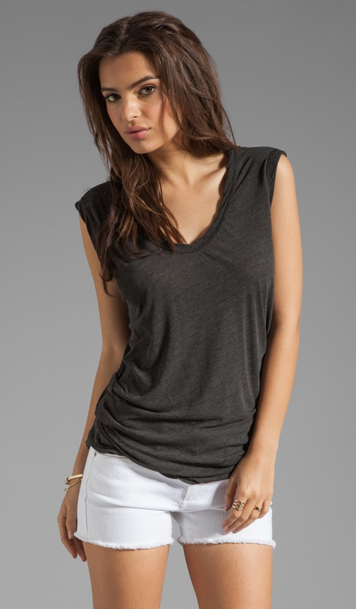 Asymmetrical Shell Top