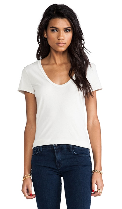 Short Sleeve Relaxed Scoop Tee